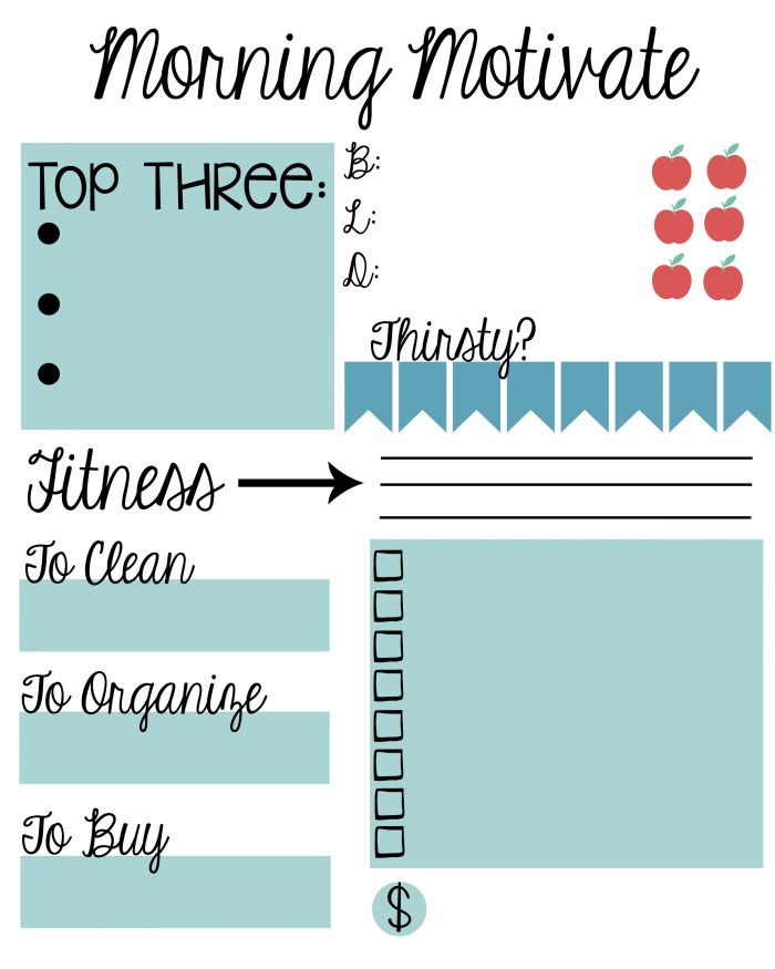 new year  new you  free to do list printable