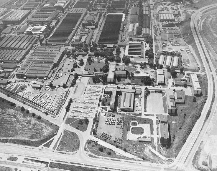 Zetor factory in Brno