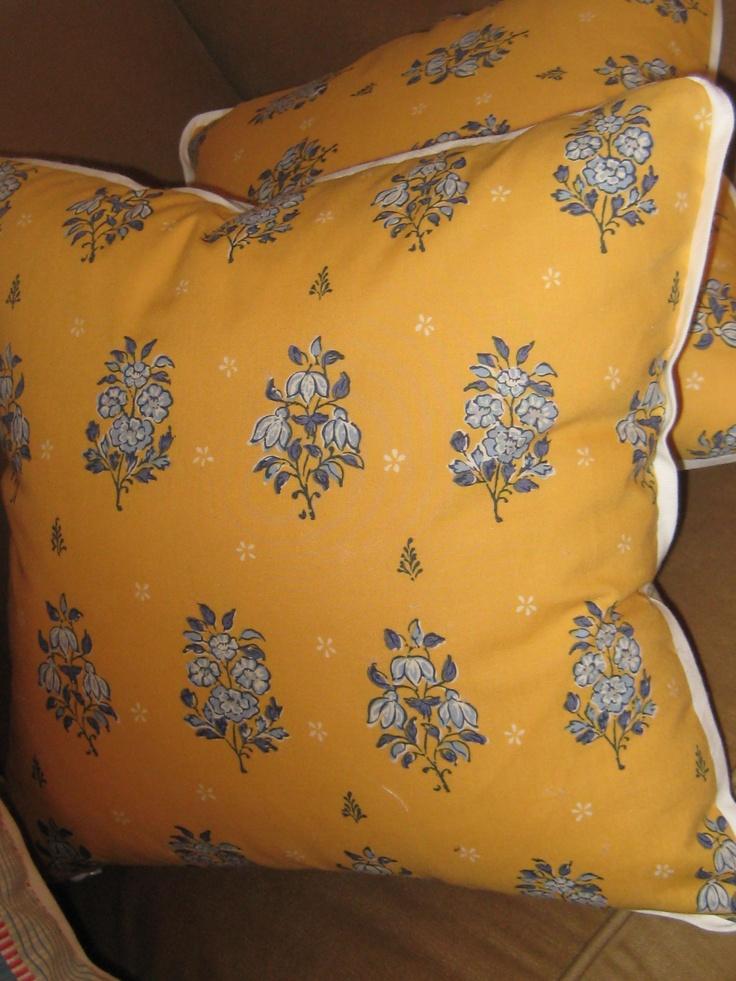 pillows, hand made
