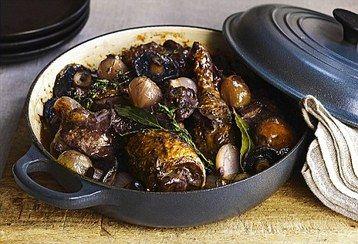 Delia Smith's Coq Au Vin  http://www.mydish.co.uk/recipe/9105/delia-smiths-coq-au-vin  #mydish.