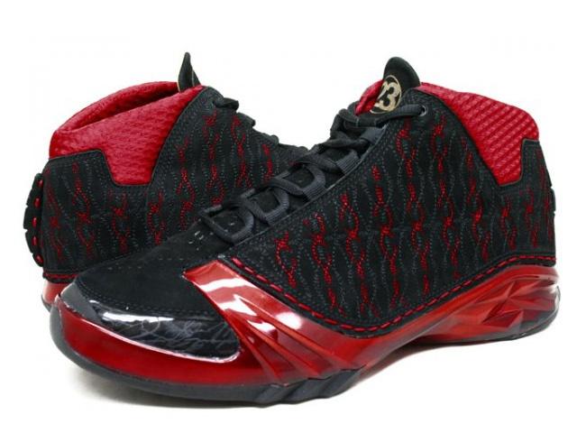 Nike Air Jordan 23 Xx3 Premier Black Varsity Red Mens Shoes