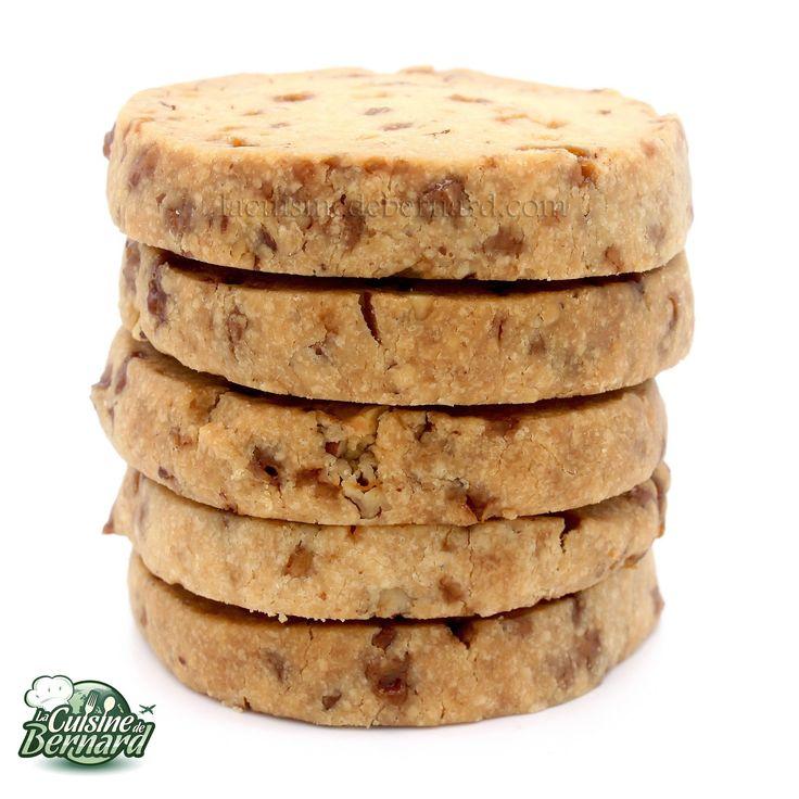 La Cuisine de Bernard : Shortbreads aux noix de pécan et caramel