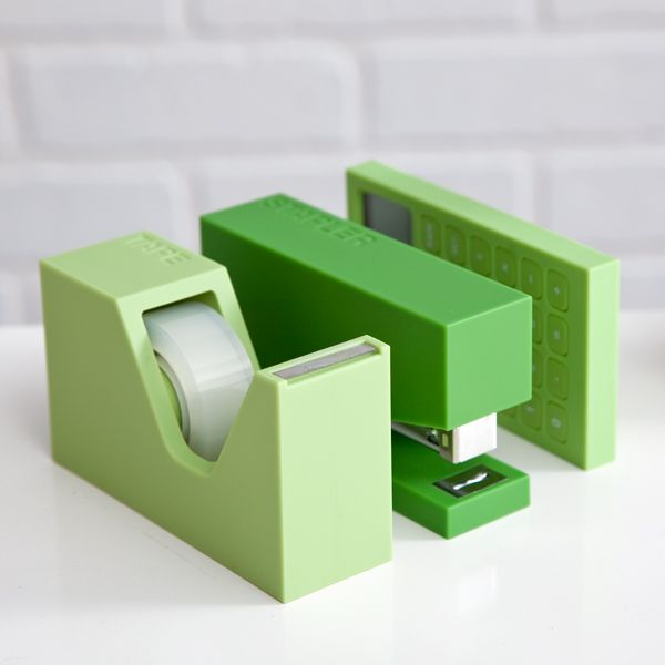 Modern Office Supplies In Green! | See Jane Work