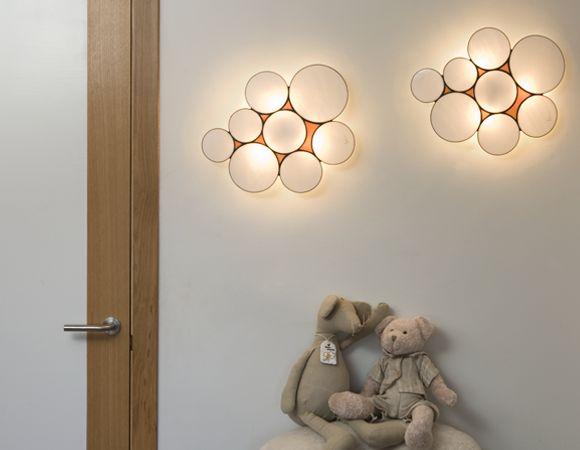 The clever Gluc wall light from Arturo Álvarez.
