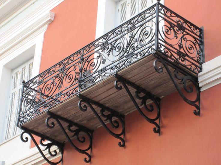 Neoclassical balcony.. Pylos (Peloponnese), Greece
