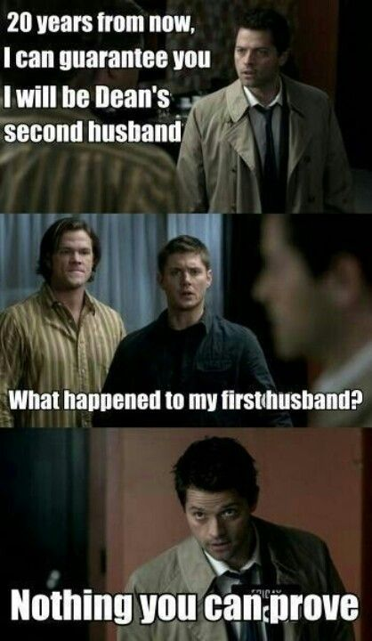 I love how he doesn't even question the husband part he just says 1st one