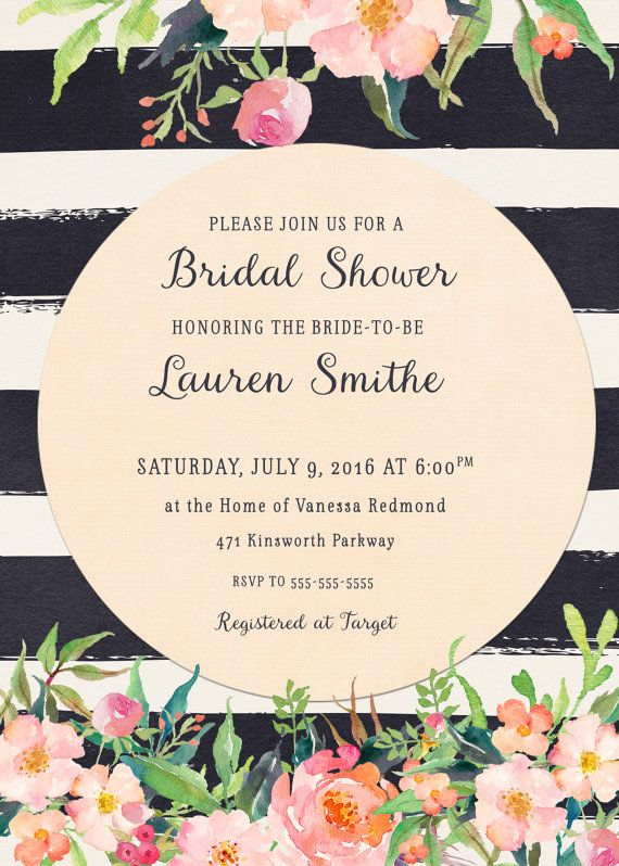 Pin By Boardman Printing On Bridal Shower Pinterest Invitations And