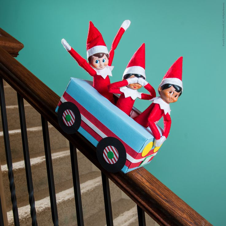 Free Elf Car Printable - One way ticket to fun! #ScoutElfIdeas | Elf on the Shelf Ideas | Ideas for Scout Elves | Printable Elf Ideas | Creative Elf on the Shelf Ideas