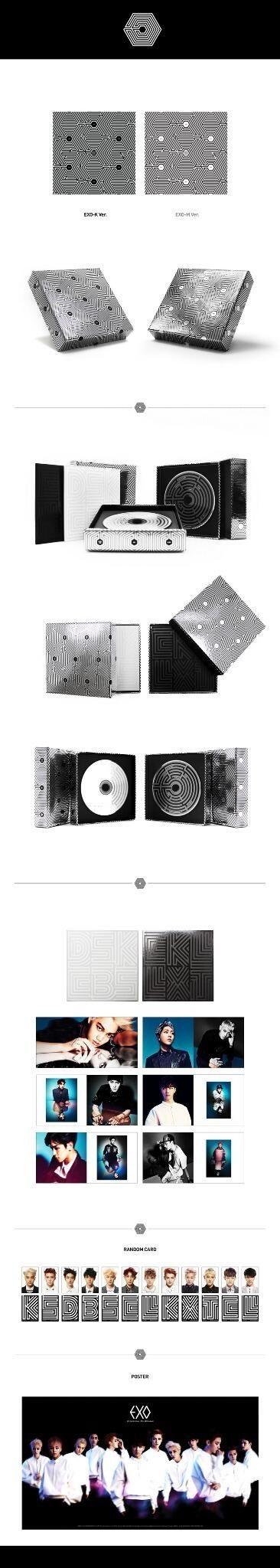 "EXO ""Overdose"" • 2nd MINI ALBUM contents"