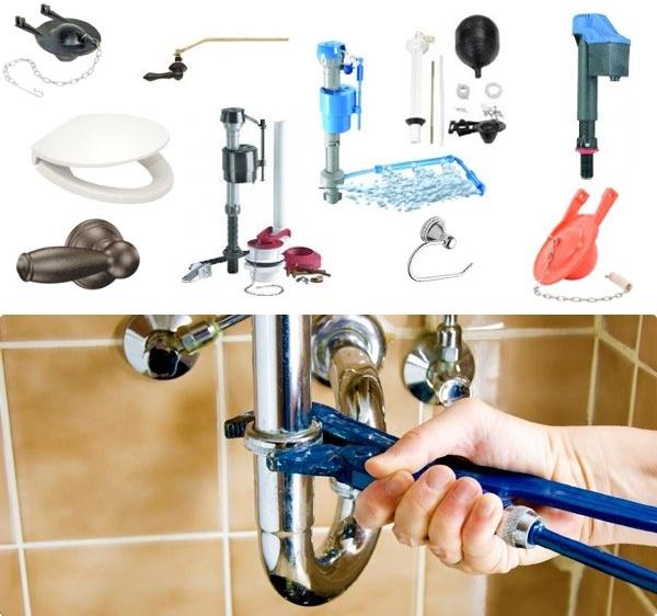Bricolage, Toilet Repair And Bathroom