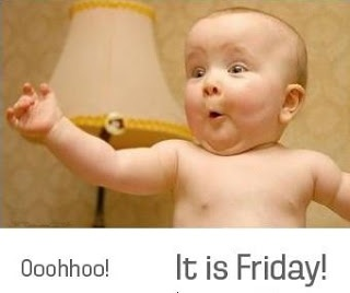 Funny friday baby quote - Funny Picture