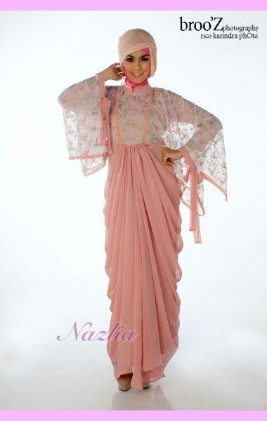 Maira - Dress Exclusive hasil rancangan Fashion Nazlia Intani