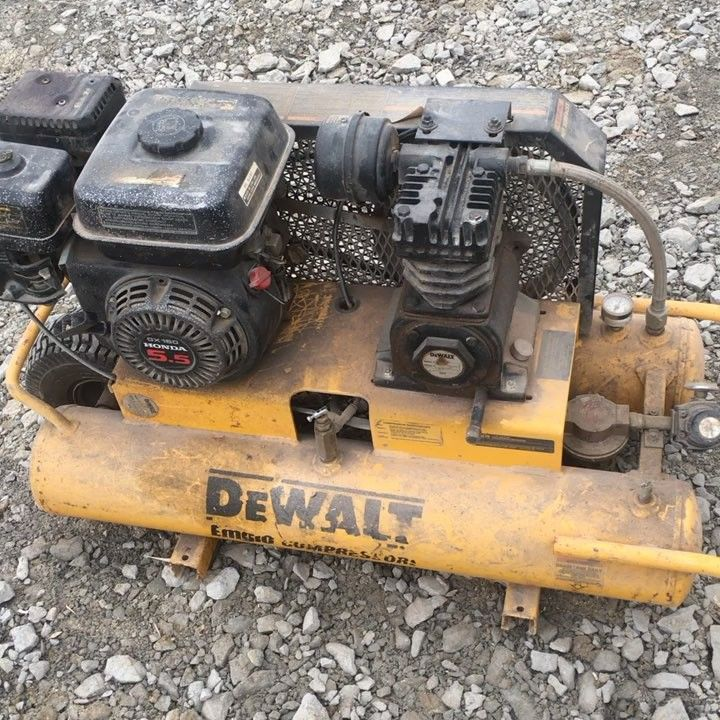 @dewalt_ca this 15 (correction) 16 year old compressor has served us well. Started at first pull after about 8 years being kept away in the garage. We normally run electric compressors but ever since the crew got bigger the small air tanks just cant keep up.      #carpenter #powertools #handtools #tools #carpentry #woodshop #woodworking #craftsman #woodworker #builder #dewalt #makita #woodwork #build #woodcraft #mechanic #tool #construction #doityourself #workshop #wooden #gear…