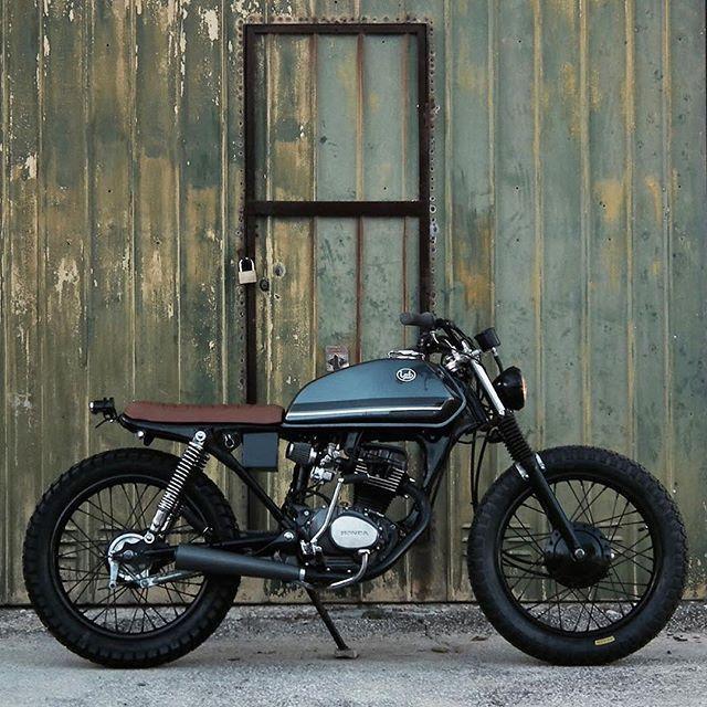Honda CG125 built by Pedro Bacalhau  Motorcycles.