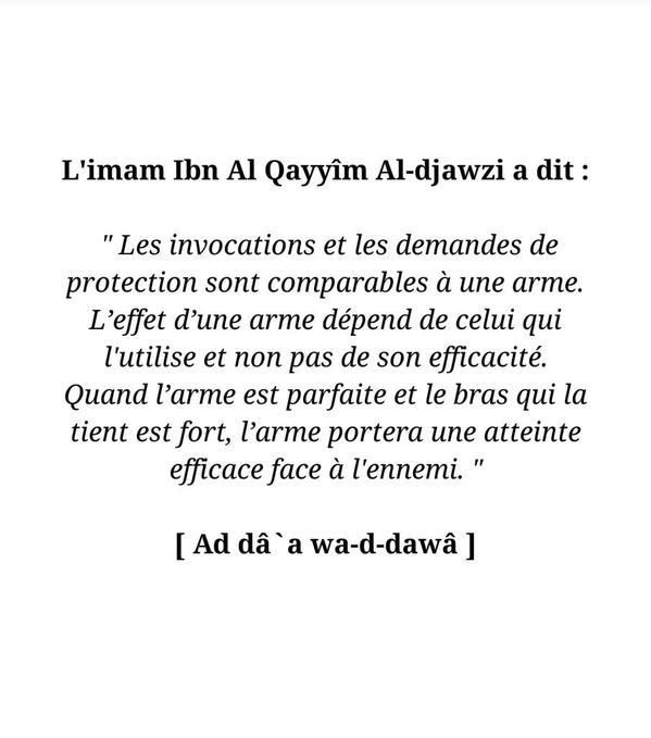 Les invocations....