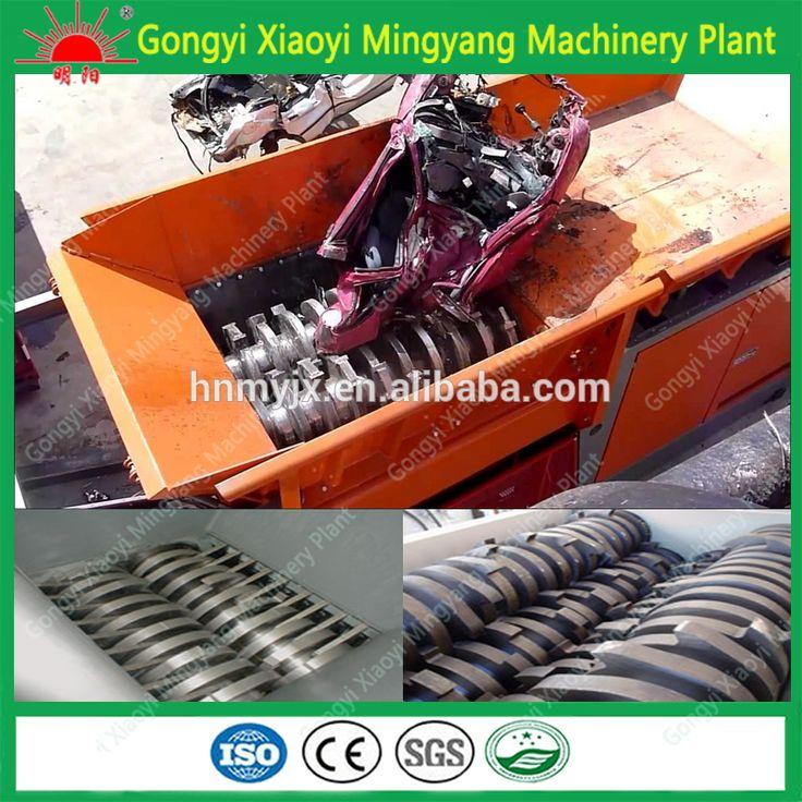 heavy duty high capacity metal scrap beverage can Auto waste shredder machine on sale