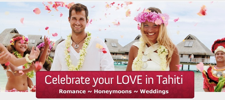 Call the Tahiti Experts for all of your wedding information!
