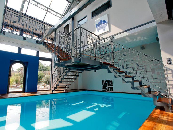 Les 49 meilleures images du tableau piscines design sur for Construction piscine 44