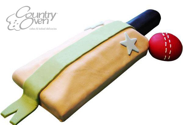 Celebrate the IPL Fever with Delicious Cricket Theme Cake #IPL #CricketFever