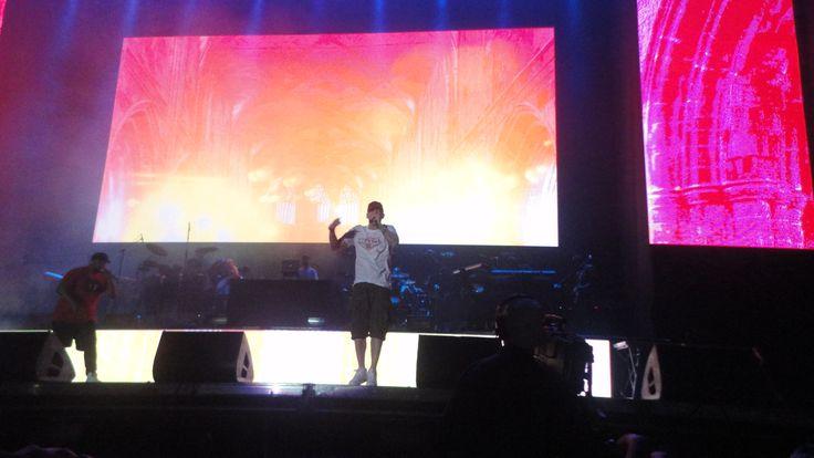 Eminem Lollapalooza Chile 2016