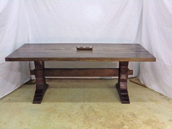 my dining room table custom made home pinterest. Black Bedroom Furniture Sets. Home Design Ideas