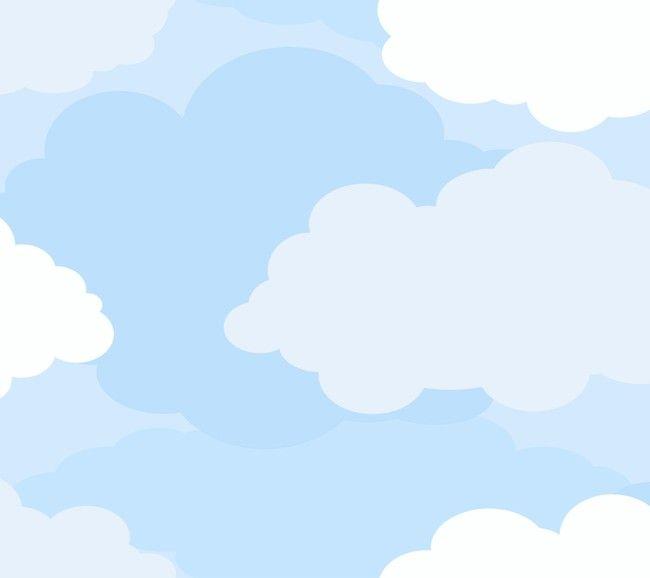 Eijffinger Hits for Kids 307072 Wolken behang