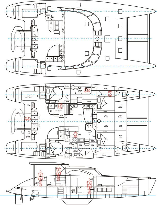 boat schematic drawing auto electrical wiring diagramhow build catamaran plans free download