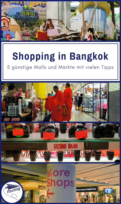 Bangkok ist ein Shopping-Paradies für jeden Geldbeutel und jedes Gemüt. Selbst als Budget Backpacker und Minimalist, habe ich in Bangkok schon oft eingekauft. #Thailand #Bangkok #Backpacking #Rucksackreise #Weltreise #Asien #Reisetipps #Markt #Nachtmarkt #Mall #Einkaufen #Einkaufszentrum #Vergleich #Souvenir #günstig