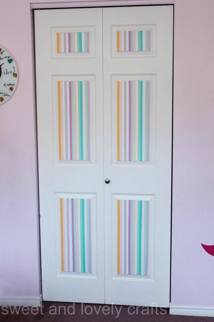 Unique  ideas para decorar con washi tape tu casa