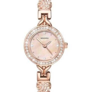 Sekonda Crystalla Ladies Rose Gold Watch 4215  See more SEKONDA Watches at:-  http://www.watcho.co.uk/watches/sekonda.html