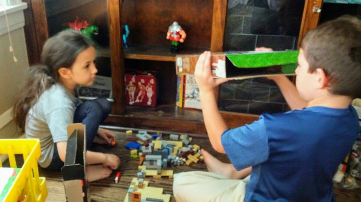 Minecraft Lego sets - my son's favorite!! Sweet little cousins & BEST friends playing with all his new birthday gifts. 😍