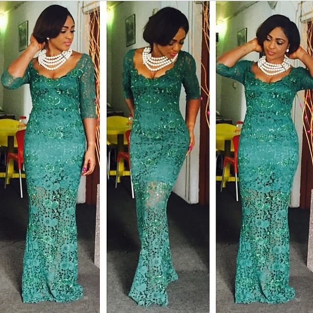 Top Ten Beautiful Aso Ebi Styles For Ladies Dabonke