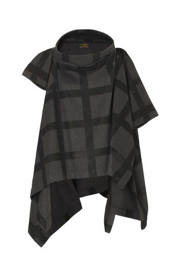 Gaia Cape: Wrap yourself in decadence this Autumn/Winter 2013-14 with Vivienne Westwood's wool mix cape