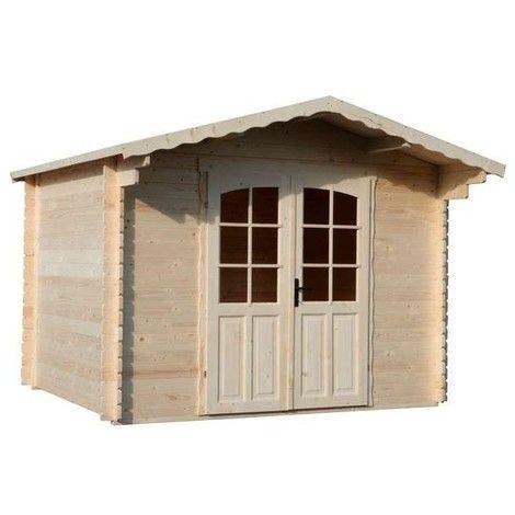 BOX CASETTA RIPOSTIGLIO GIARDINO ATTREZZI LEGNO ABETE GREZZO PAVIMENTO INCLUSO BLOCKHAUS PIOPPO | legno