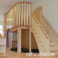 For Heidi's future room, or my future classroom!    Natural Pod - Loft