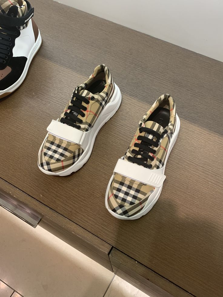 gnarlyreagan Burberry shoes, Shoes, Sneakers