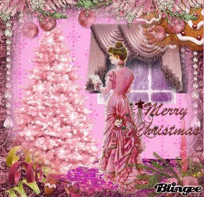 VINTAGE PINK CHRISTMAS