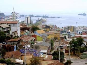 Cerro y Bahía Valparaíso
