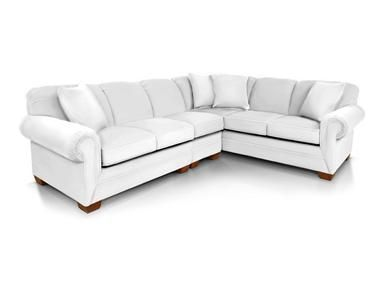 Shop for England Sectional, 1430-Sect, and other Living Room Sectionals at England Furniture in New Tazewell, TN. Anyone can appreciate the beautiful versatility of our Monroe group and all the options that come along with it! This transitional collection includes a sofa, loveseat, queen sleeper, chair-and-a-half, ottoman, and multiple sectional configurations.