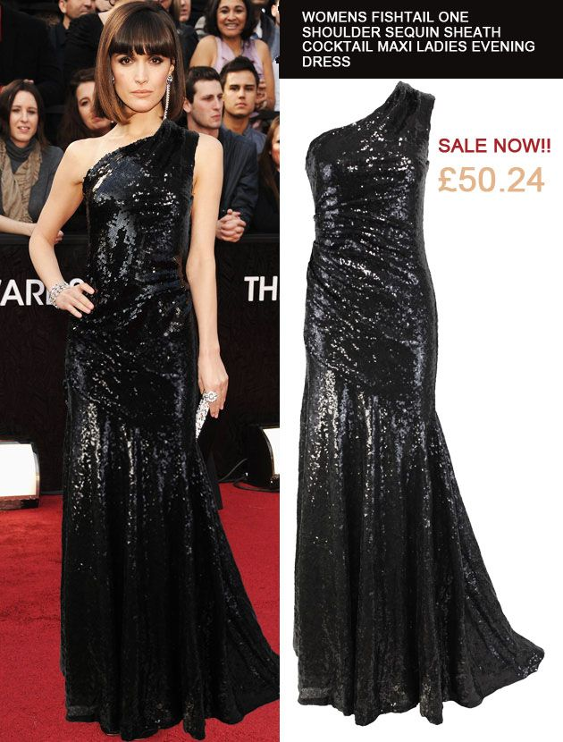 #Celebrity time!  buy it here: http://r.ebay.com/ObBzDd  #celebrity #dress #sequindress #red carpet #mermaid