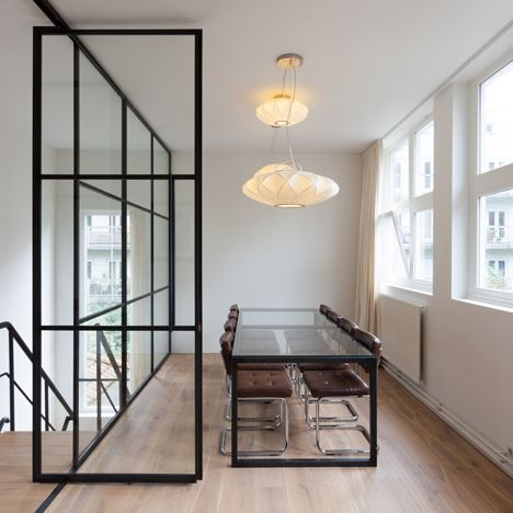 contemporary office spaces. studio aa transforms amsterdam boiler house into contemporary office space spaces