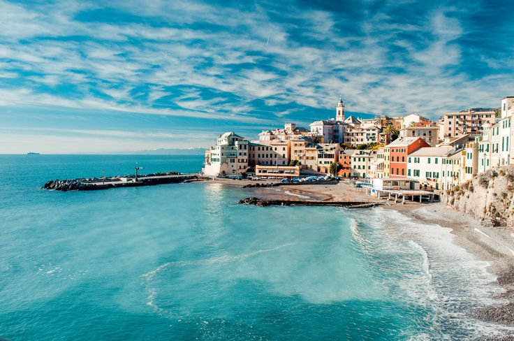 10 World-Class Travel Bargains...View of Bogliasco and Mediterranean Sea. - Getty Images