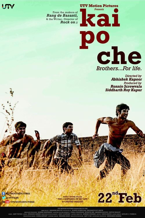 Watch Kai Po Che! (2013) Full Movie Online Free