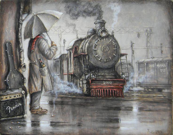 художник Ленков Дмитрий, Последний экспресс до Кливленда