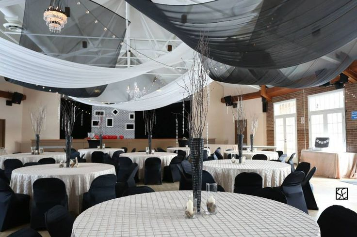 classy black wedding with a vintage flair at Victoria Park Pavillion
