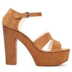 K. Cobler, Paris wood heel bun 22, from Scorett