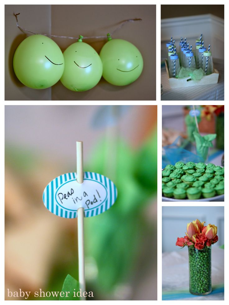 Peas in a Pod Baby Shower Ideas