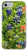 GalaxyS6 Case - Decorative Texas Bluebonnets Meadow Digital Photo G33117 IPhone Case by Mas Art Studio, #GalaxyS6Case #Phone #Case #Texas #Bluebonnets #Contemporary #Decorative  #MasArtStudio #WallArt #ArtForSale #MixedMedia  #MarthaAnnSanchez #Gestural #Interiors #ArtLoversOnline  #CanvasPrint #GicleePrint #Orange #Blue