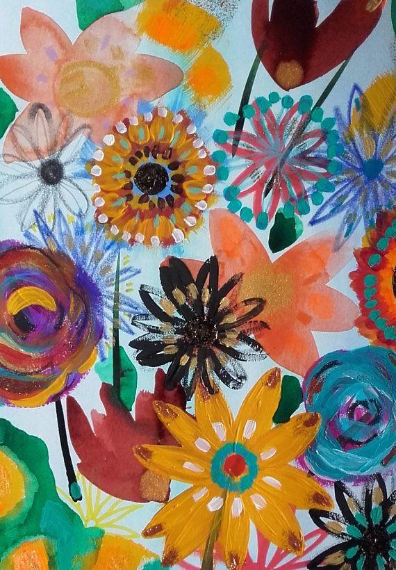 Fleurs Art Fleurs Peinture Fleurs Dessin Fleurs Décoration Jardin ...