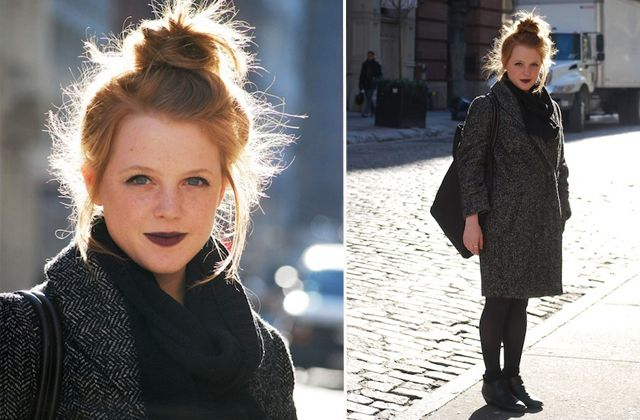 Street Style: Ashley's Take on Casual Goth Is Kind of Adorable